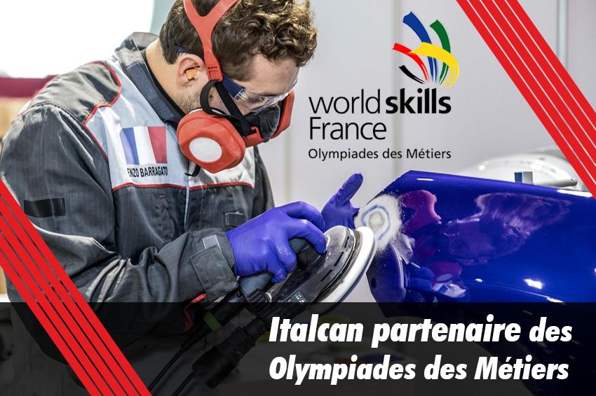 Italcan partenaire des Olympiades des métiers