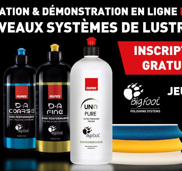 Formation Rupes Produits Lustrants